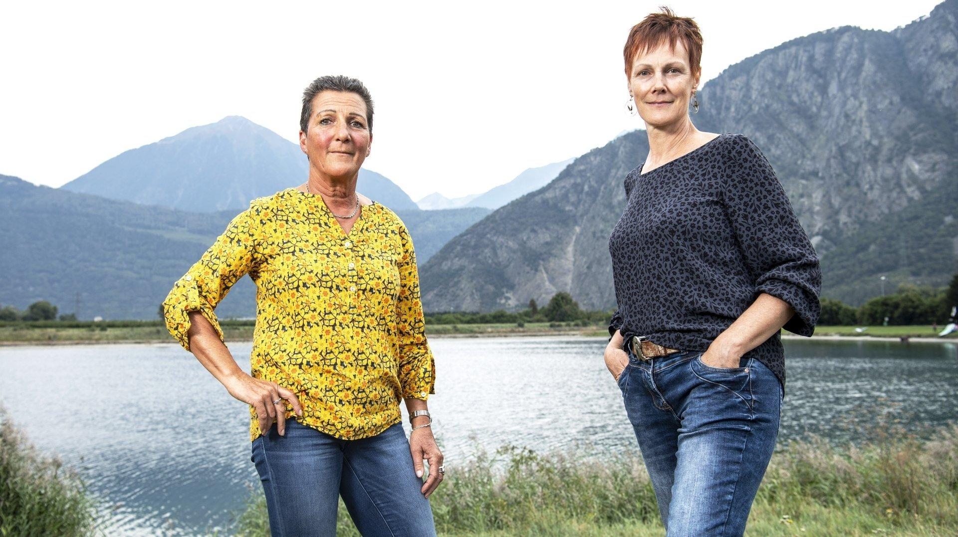 Roxane Frei et Raymonde Veuthey ont accepté de témoigner à visage découvert, même si elles sont conscientes qu'afficher ouvertement un refus du vaccin peut susciter des réactions violentes.