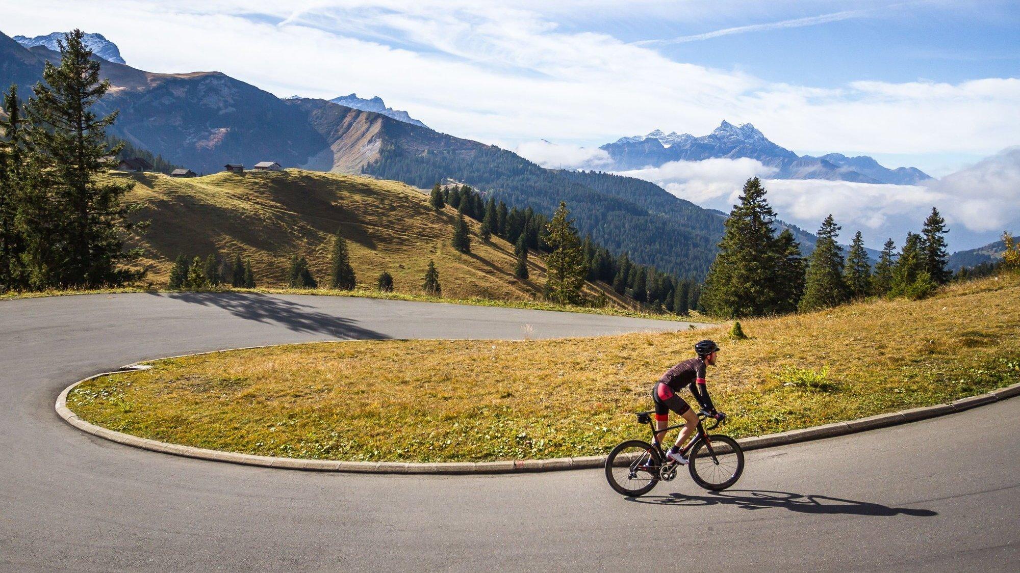 Cette cyclosportive se déroulera au cœur des Alpes vaudoises.