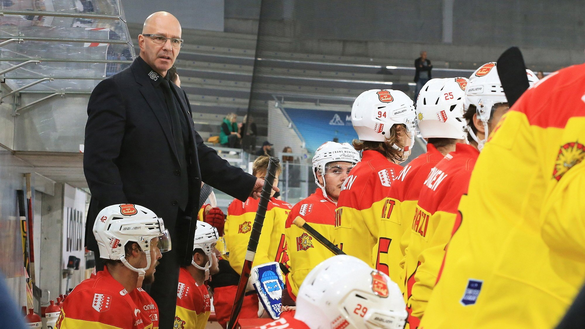 Dany Gelinas devra trouver une solution interne pour remplacer Arnaud Montandon, absent trois semaines.