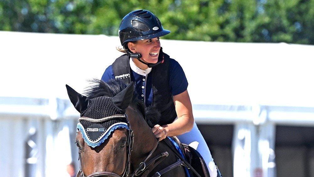 Delphine Papilloud (Riddes) sera en lice avec plusieurs chevaux.