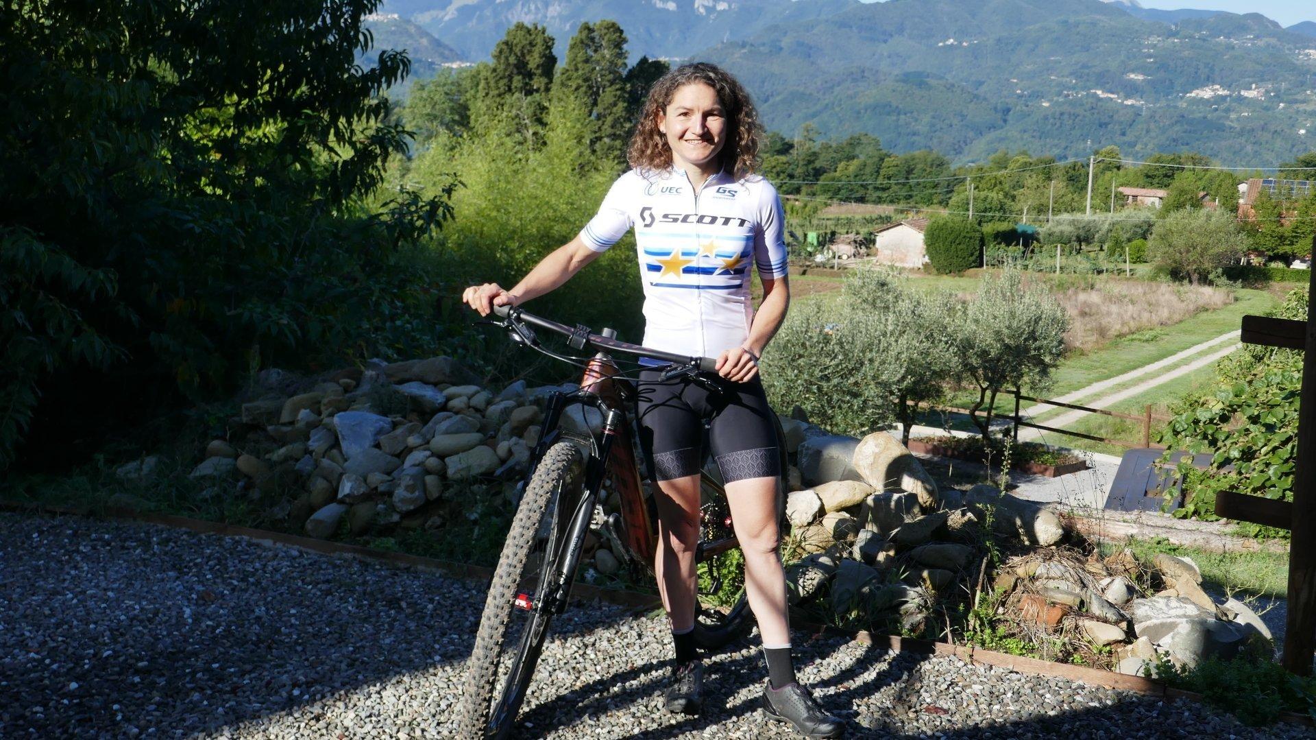 Florence Darbellay disputera les Mondiaux de marathon en Italie vêtue de son maillot de championne d'Europe.