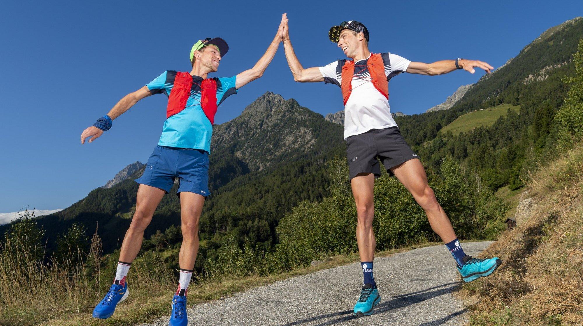 Candide et Jules-Henri Gabioud font de la montagne un terrain de jeu sans limites.