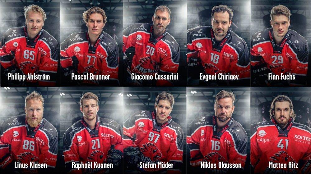 Ce ne sont pas moins de dix joueurs qui ont débarqué durant l'été à Viège.