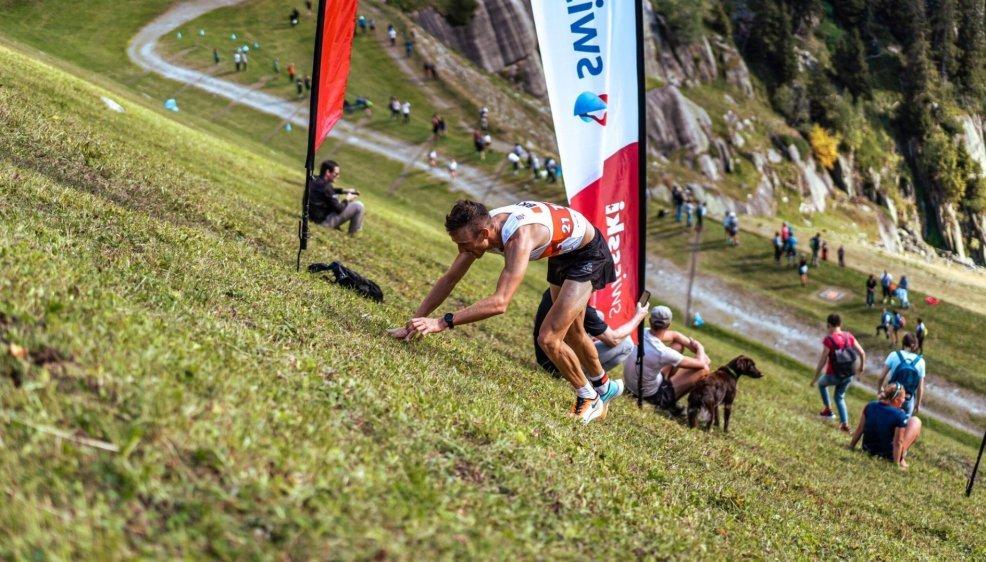 Vainqueur de l'épreuve classique, Candide Pralong s'est aussi imposé sur la course à pied de montagne.