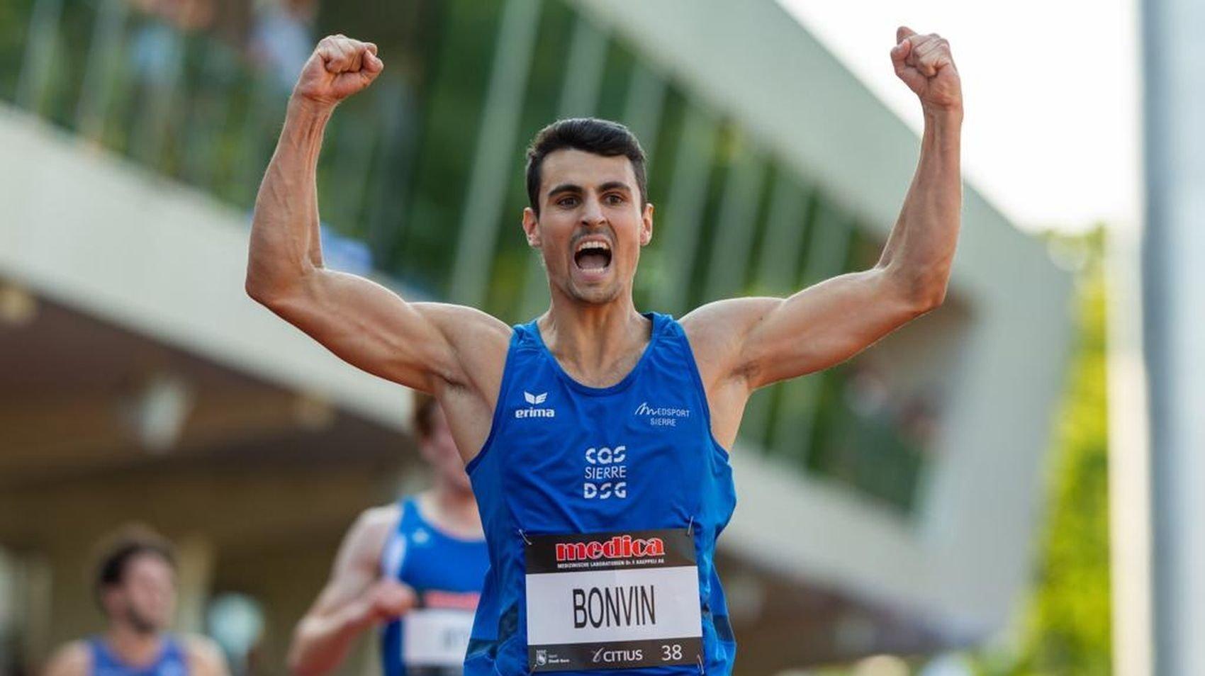 Julien Bonvin n'avait pas couru aussi vite sur 200 mètres depuis quatre ans.
