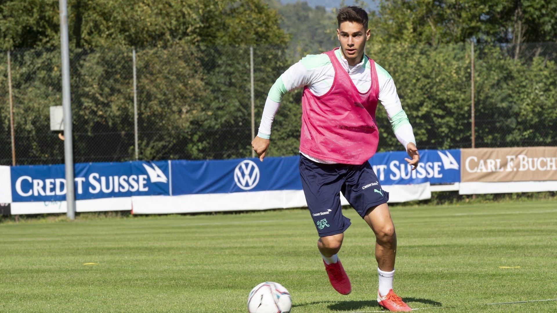 Jan Kronig s'entraîne à Lens avec l'équipe de Suisse des moins de 21 ans depuis le début de la semaine avant de jouer contre Gibraltar vendredi à Sion.