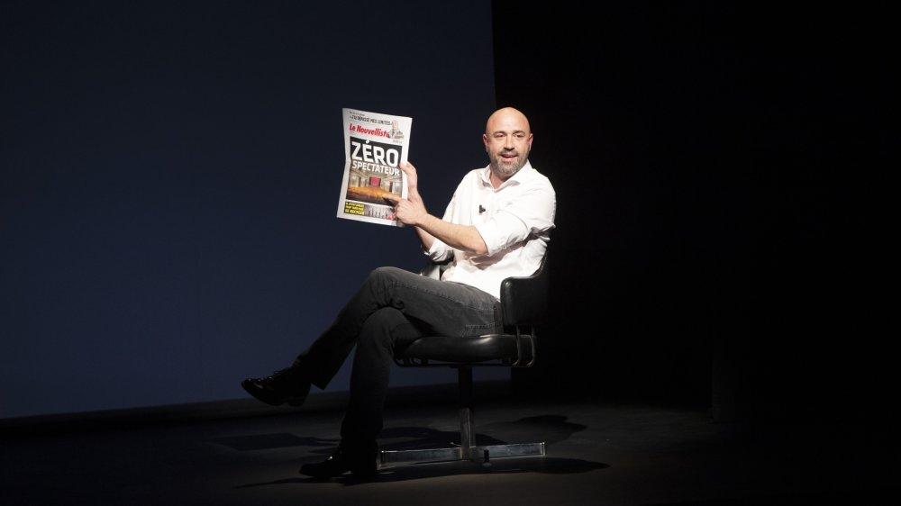 """Frédéric Recrosio veut expurger les """"valaisanneries"""" accumulées depuis deux ans."""