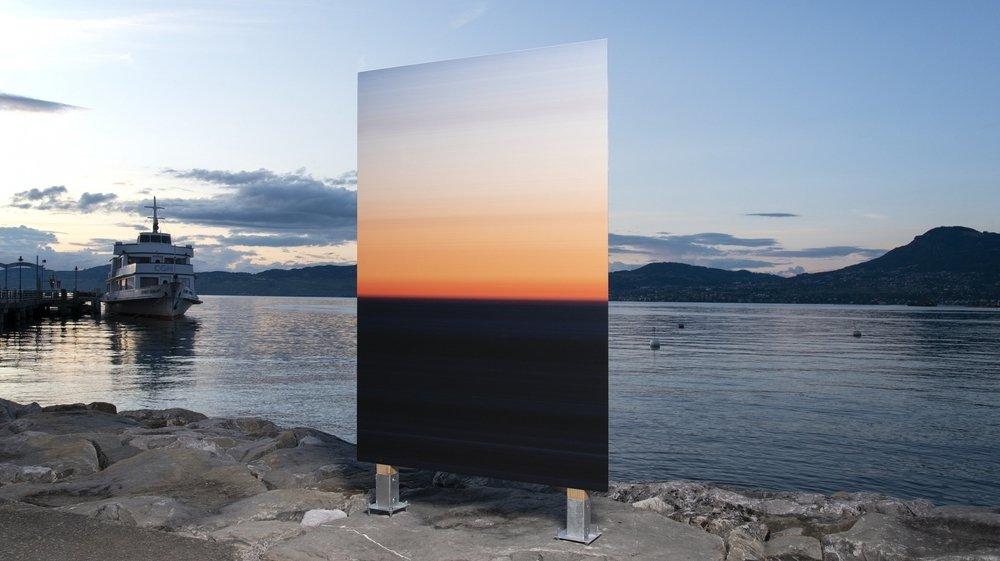 """Exposition """"Set Sun"""" au Bouveret du photographe Cédric Raccio."""