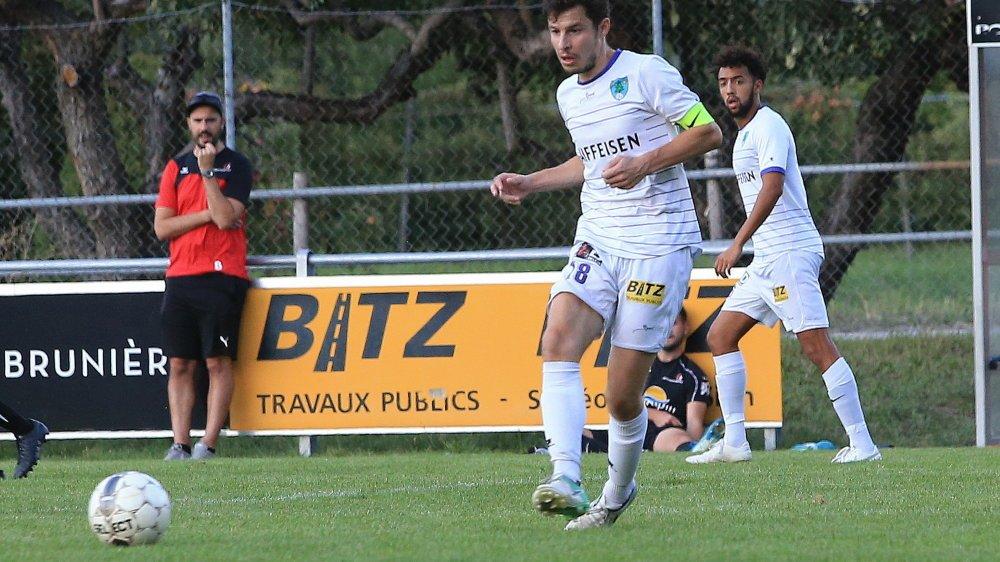 Augustin Fournier et le FC Saint-Léonard ont fait coup double l'an dernier, remportant la Coupe valaisanne et le championnat de troisième ligue.