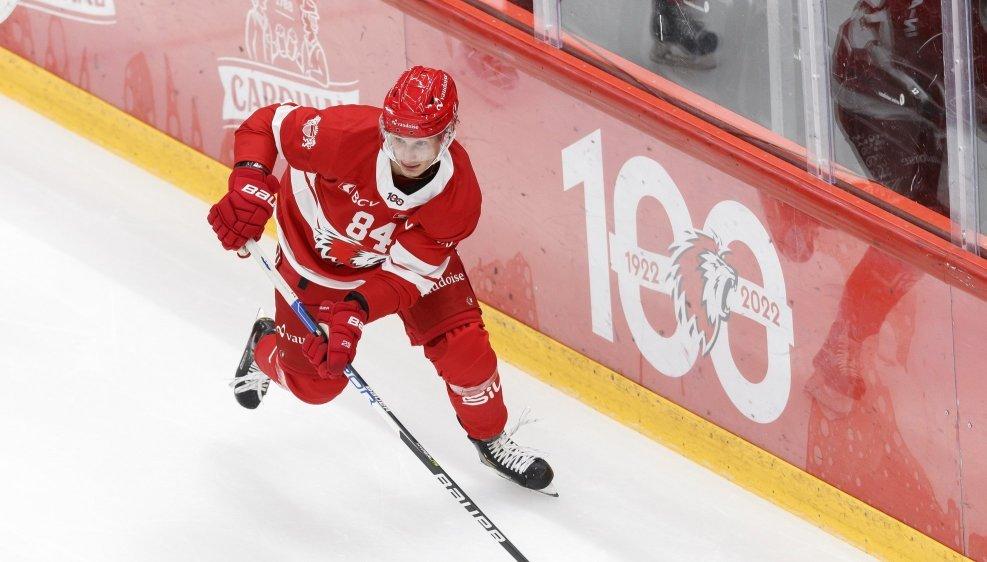 Loïc In-Albon a eu droit à 7'36 de glace avec Lausanne.