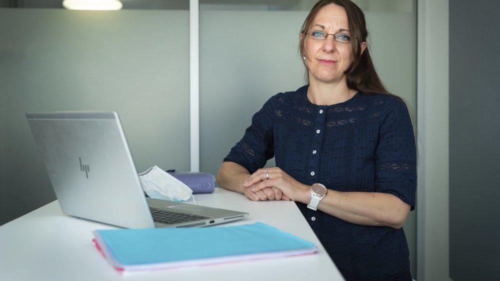 Marie-Elise Pflieger, cheffe du service de médecine pénitentiaire à l'Hôpital du Valais et psychiatre.