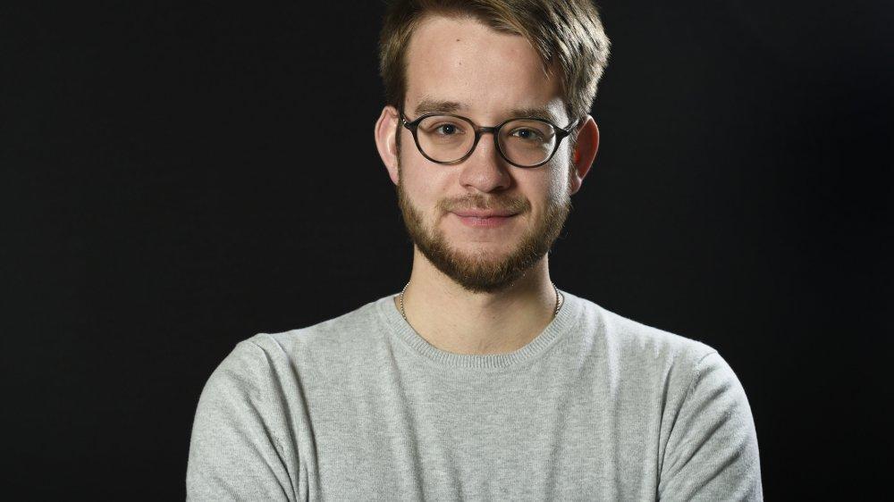 Pierre Loretan, étudiant en droit.