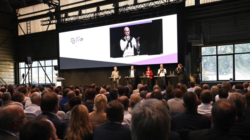 La 5e édition de la Rentrée de l'économie valaisanne s'est tenue jeudi soir à Sembrancher.