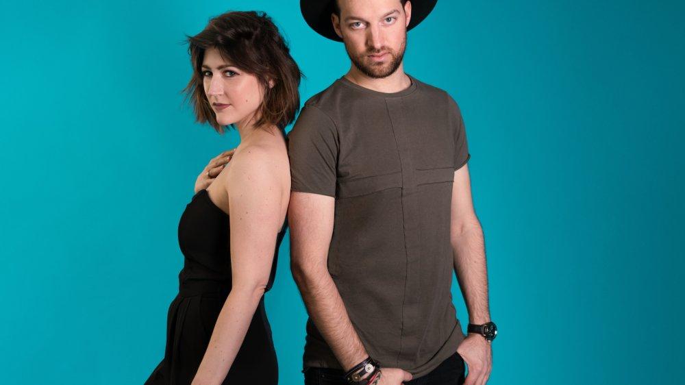 Sophie de Quay et Simon Jaccard, un premier album en duo, entre chanson et électro.