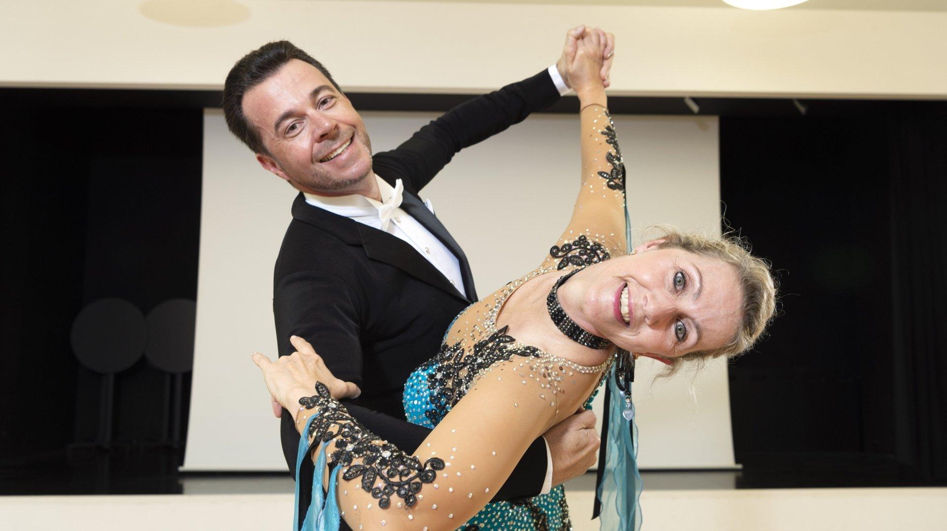 Astrid et Martin Vogel ont récemment été titrés champions suisses de danse de salon.