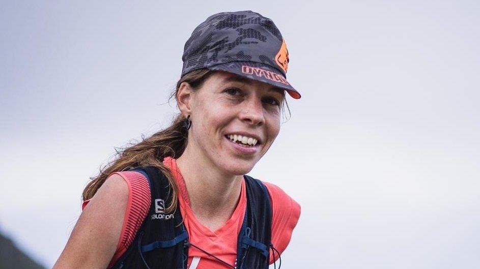L'athlète de Salvan Mélanie Delasoie, grande gagnante du Swiss Peaks 100.