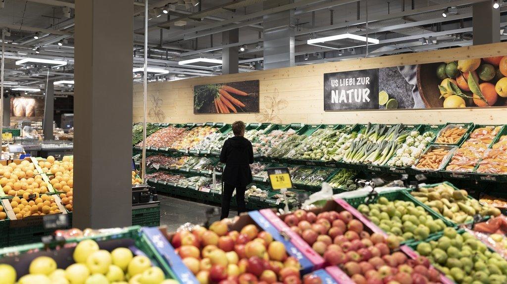 La part du online dans l'alimentaire est de 2% chez Coop.