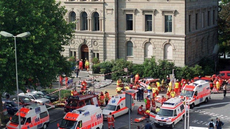 Tuerie de Zoug, 20 ans après: la Suisse a su trouver «un équilibre»