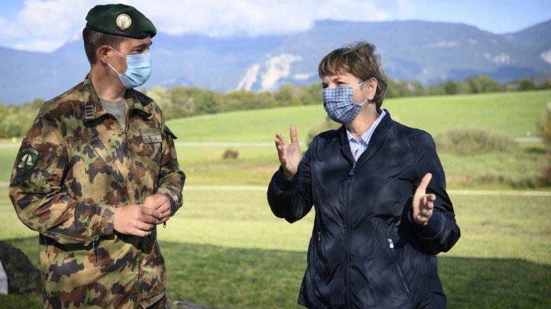 Une armée suisse plus écolo pour une neutralité carbone d'ici 2050