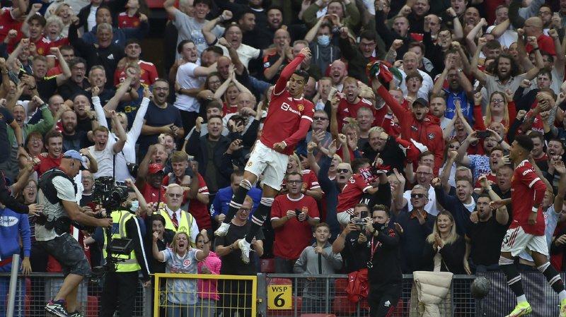 Football: le retour triomphal de Cristiano Ronaldo en Angleterre