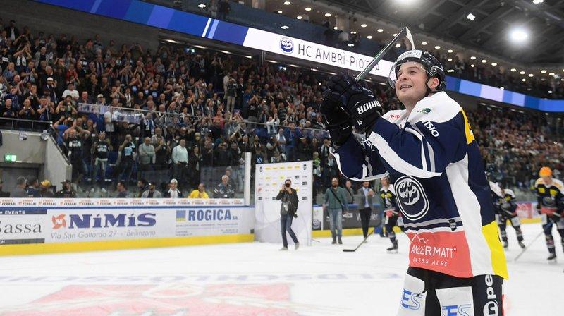 Hockey sur glace – National League: Ambri brille dans sa nouvelle Valascia