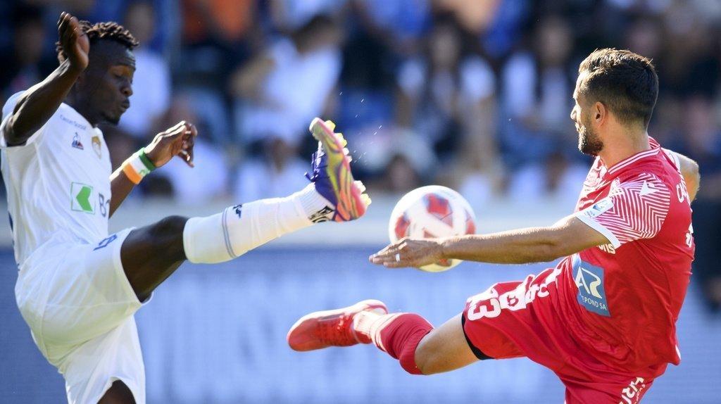 Super League: le FC Sion et le Lausanne-Sport partagent l'enjeu