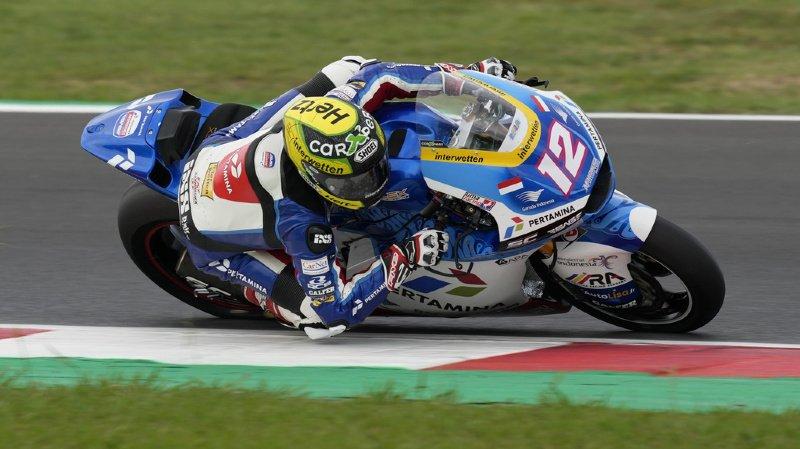Thomas Lüthi a réalisé un bon Grand Prix, compte tenu de son état de forme cette saison.