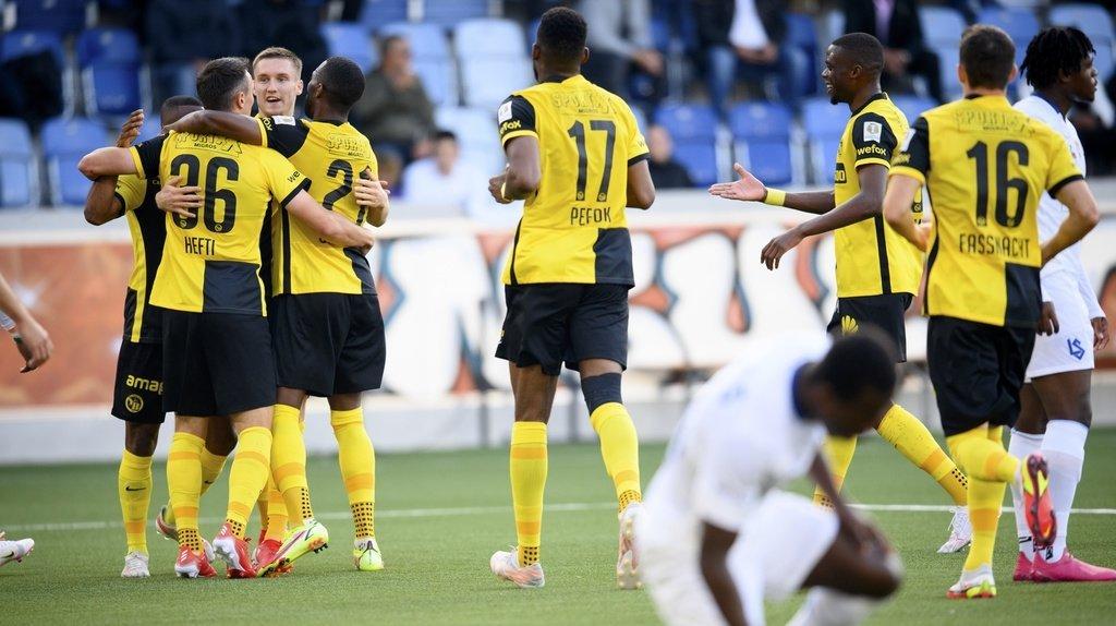 Football - Super League: Young Boys écrase Lausanne-Sport 6 à 1, Bâle récolte 3 points