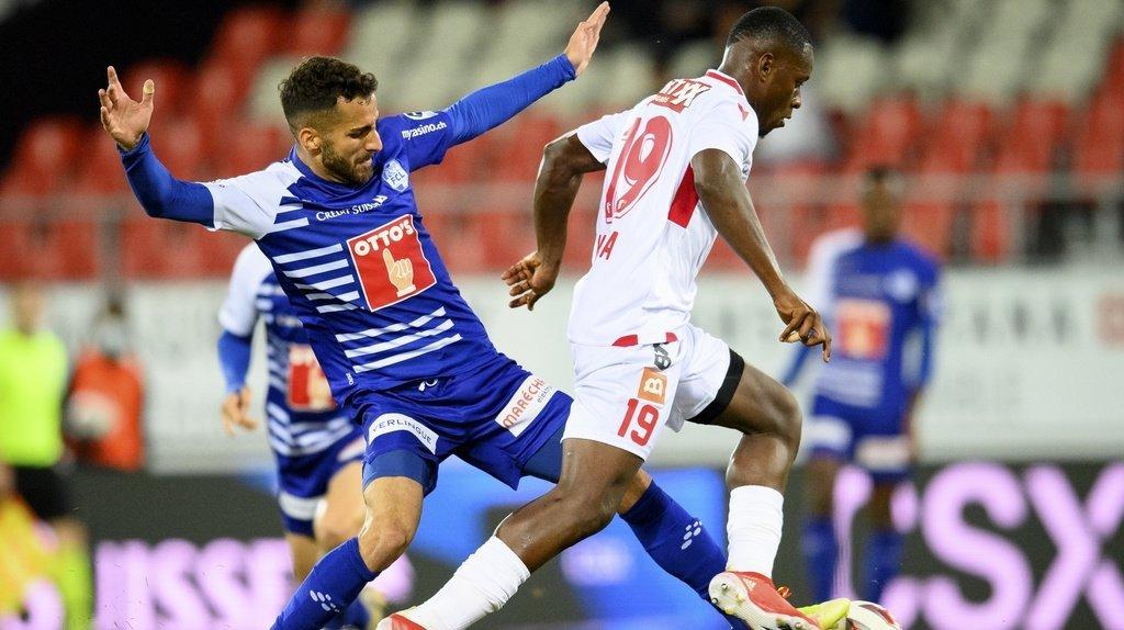 Football: Sion laisse filer deux points