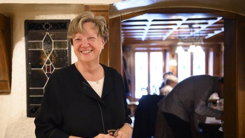 Isabelle Chassot succédera à Christian Levrat au Conseil des Etats.