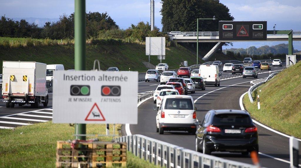 Première romande: feu rouge pour doser les entrées sur l'autoroute