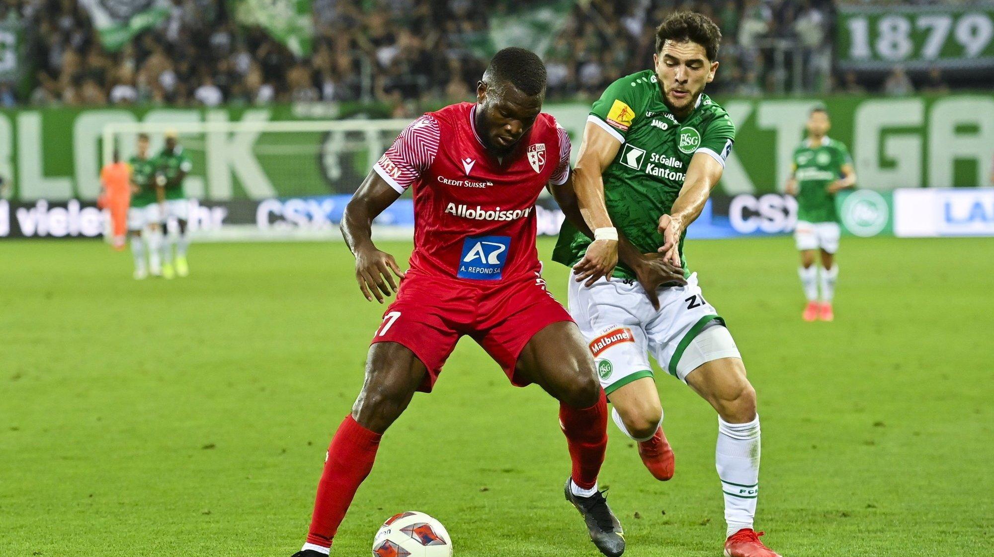 FC Sion: les notes des joueurs lors du match contre le FC Saint-Gall