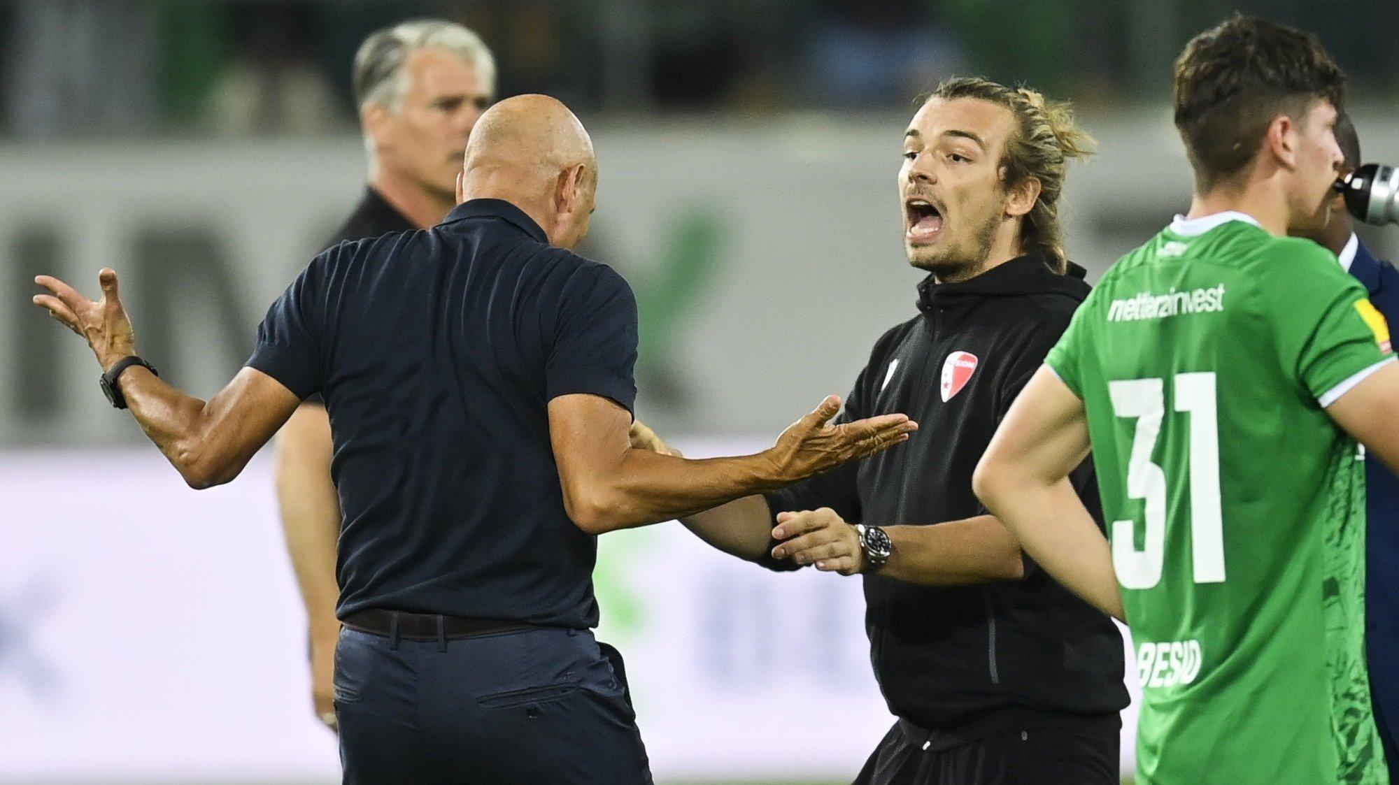 FC Sion – Barthélémy Constantin: «Des paroles ont été prononcées entre Peter Zeidler et moi, mais rien de grave»