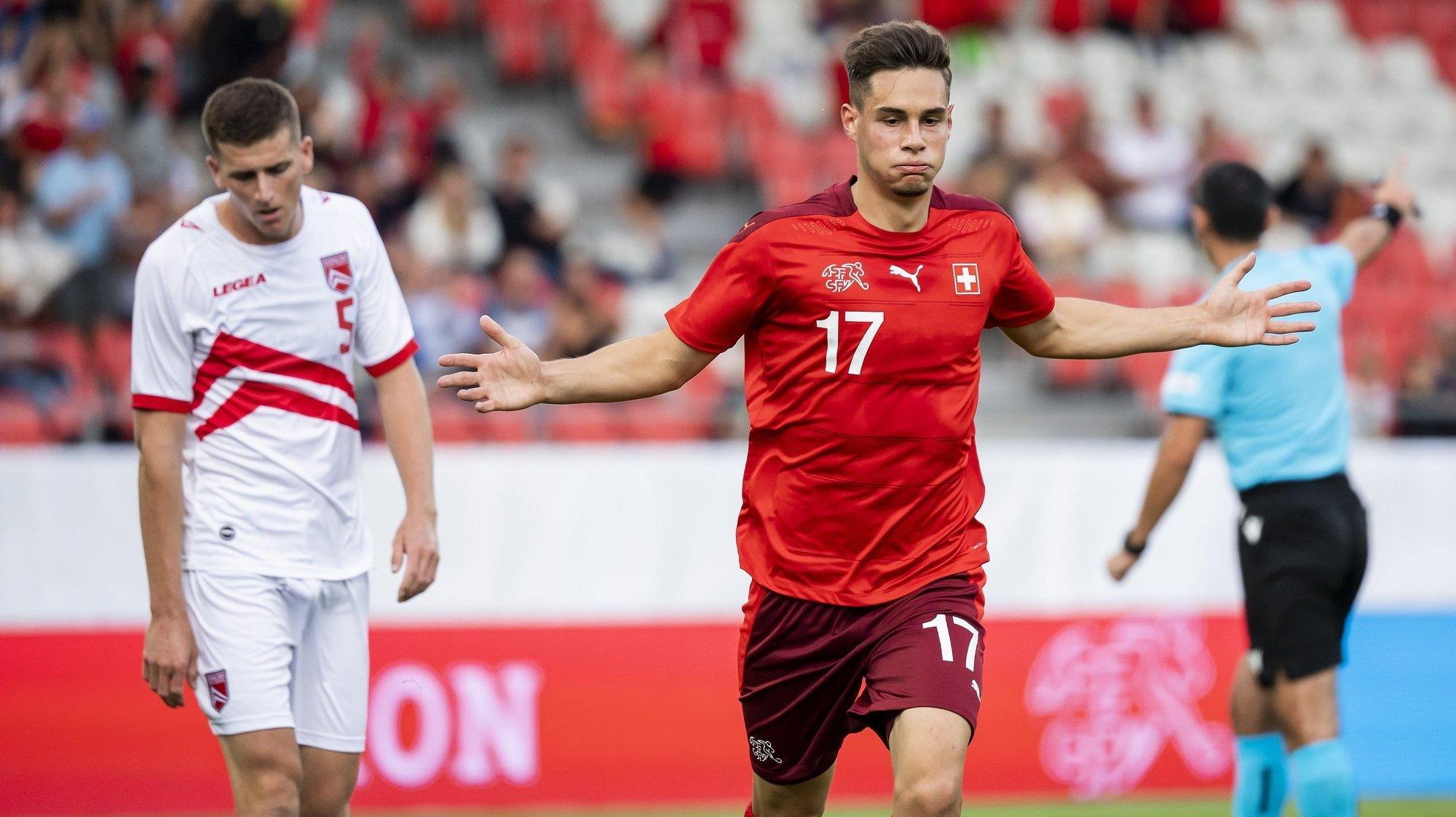 Football: les moins de 21 ans suisses lancent leur campagne pour l'Euro 2023 par une victoire contre Gibraltar