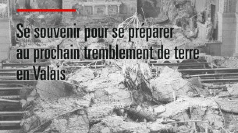 """Exposition """"Tremblez Valaisans"""" à la Bibliothèque de Riddes"""
