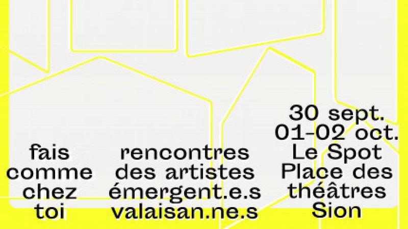 Rencontres des artistes émergent.e.s valaisan.ne.s