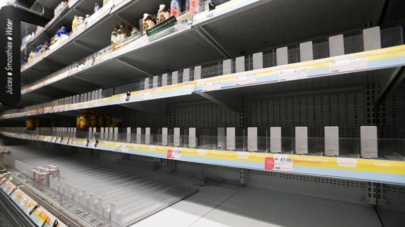Au Royaume-Uni, les pénuries se multiplient