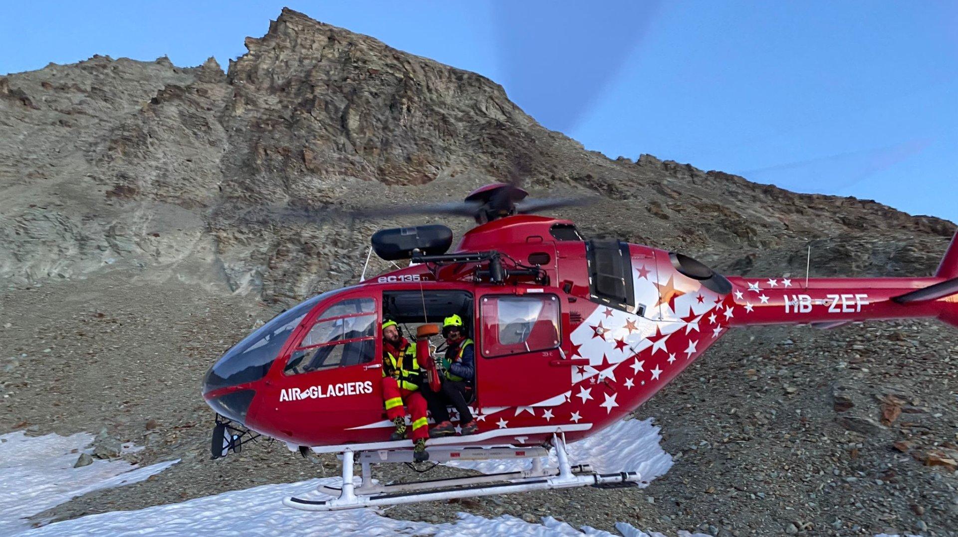 Arolla: deux alpinistes secourus aux Aiguilles Rouges