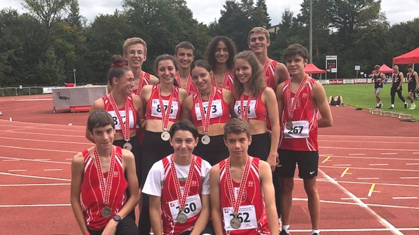 Athlétisme: deux titres et trois autres médailles pour les Valaisans