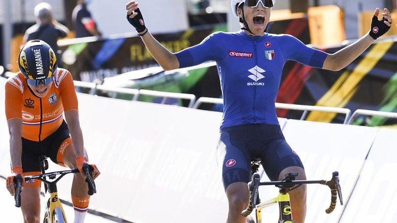 Cyclisme: Elisa Balsamo championne du monde, Elise Chabbey et Sina Frei dans le groupe de tête