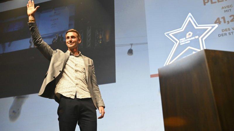 Robin Dorsaz, le fondateur de l'entreprise Plein'R, remporte le Prix Créateurs BCVs 2021.