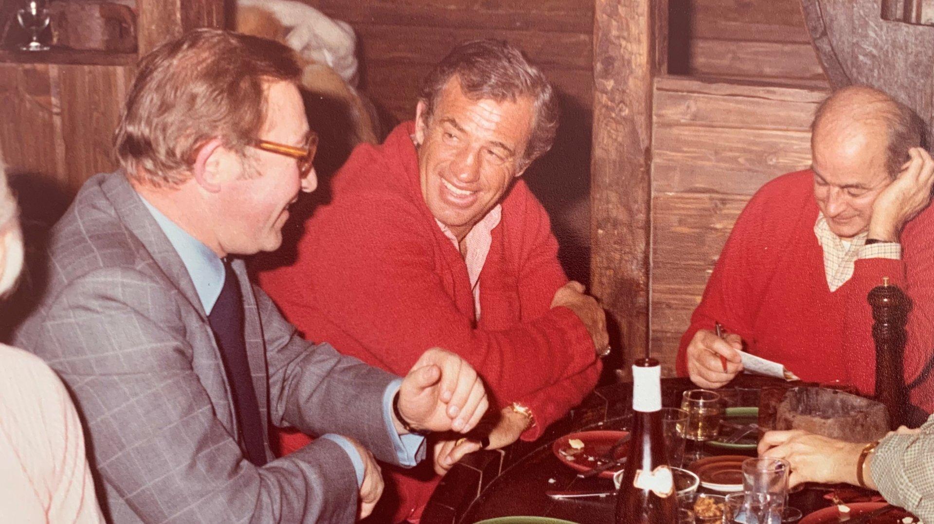 Jean-Paul Belmondo, les échos d'une soirée pas comme les autres à Crans