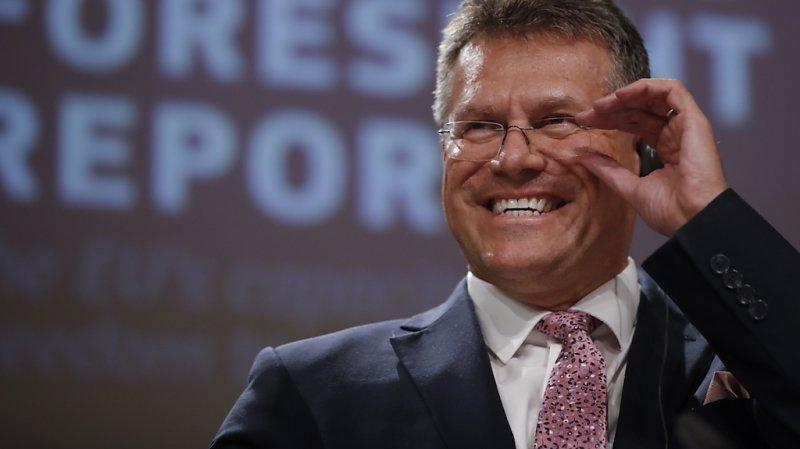 Suisse – UE: le Slovaque Maros Sefcovic reprend le dossier suisse
