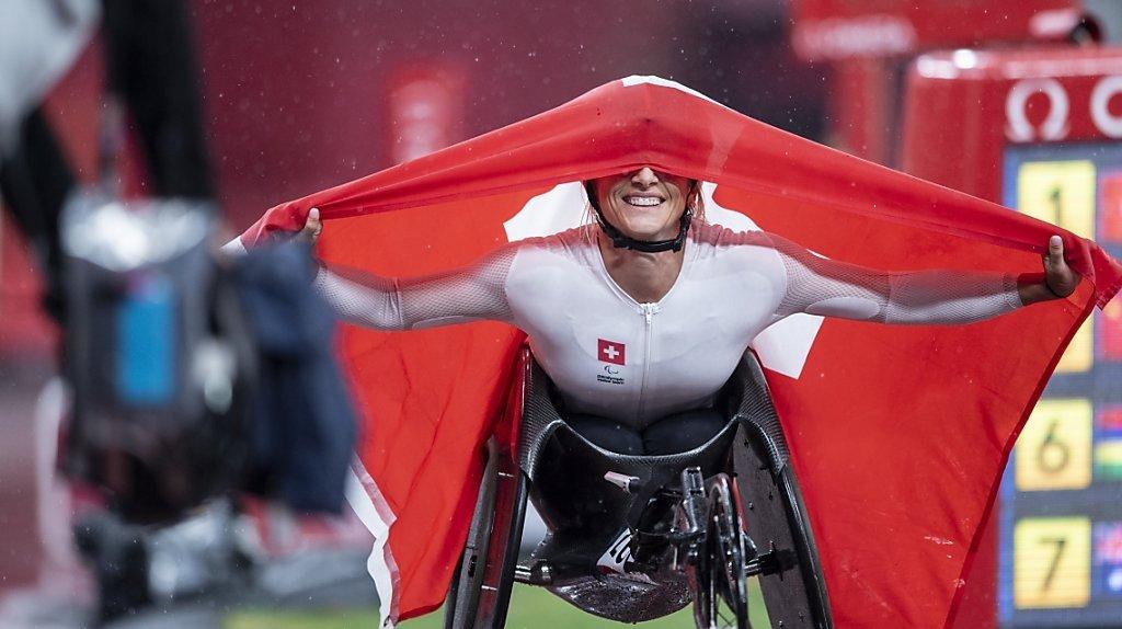 Jeux paralympiques 2021: de l'or comme s'il en pleuvait pour la Suisse