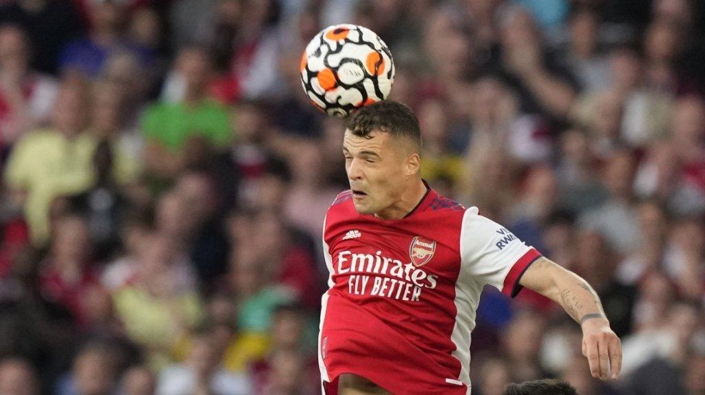 Football: le capitaine de la Nati Granit Xhaka blessé 6 à 8 semaines