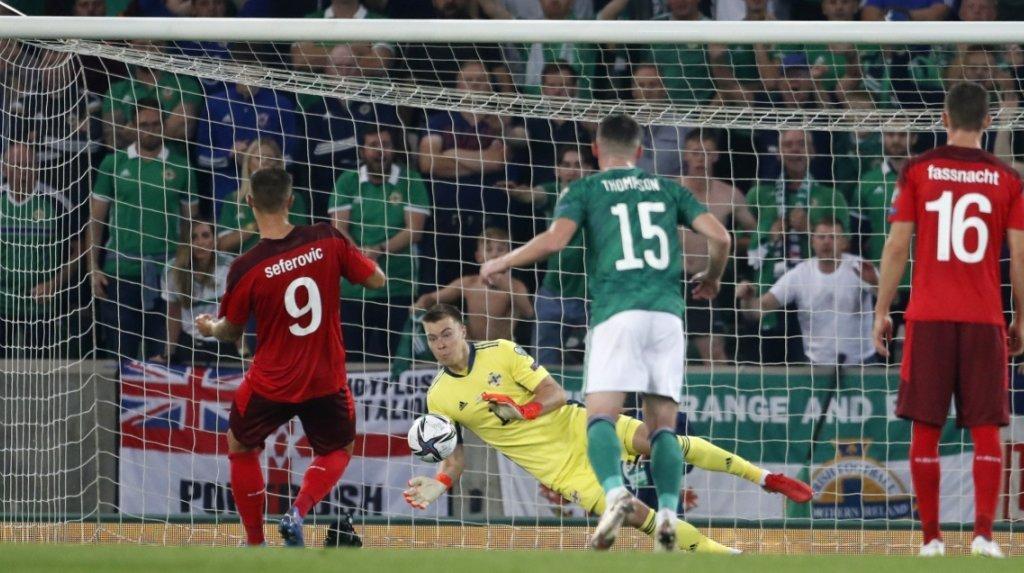 Football - Éliminatoires de la Coupe du monde: la Suisse égare deux points à Belfast