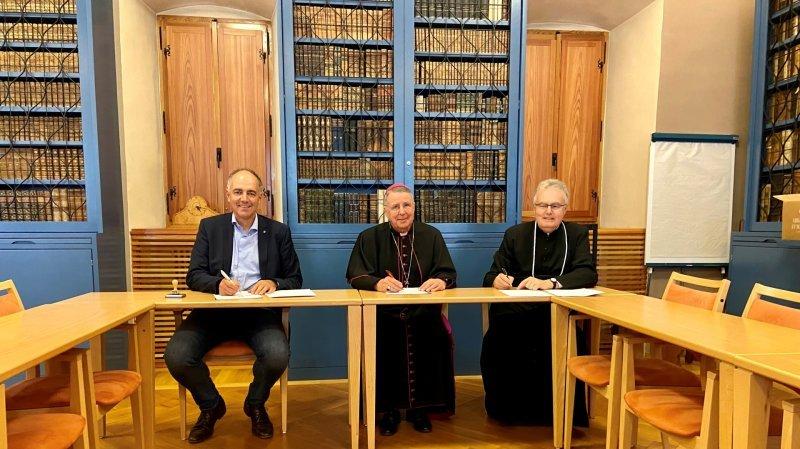 Saint-Maurice: la convention de rachat du Collège de l'Abbaye signée