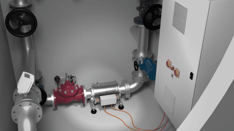 Petite hydraulique: la HES-SO développe un nouveau type de turbine