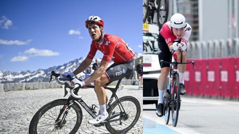 Stefan Küng et Marlen Reusser feront partie des favoris aux médailles du contre-la-montre dans les Flandres.