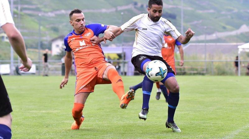 Football: les échos des ligues inférieures en Valais